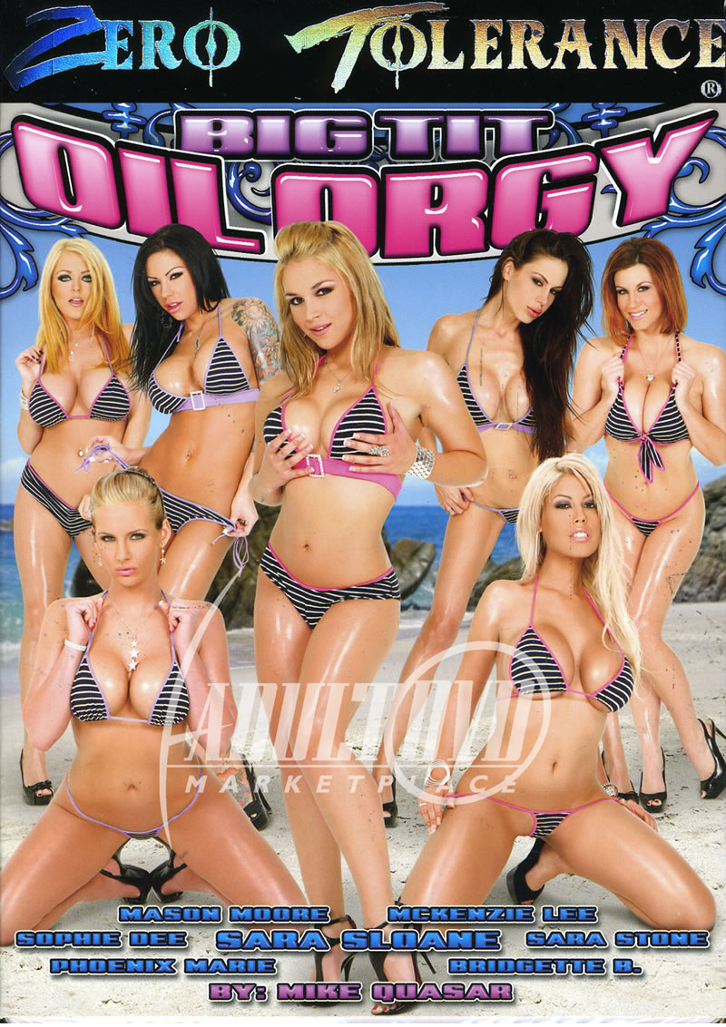 Oiled Cum Orgy - Big Tit Oil Orgy (ZERO TOLERANCE)