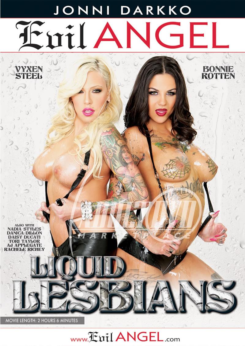 Liquid Lesbians (EVIL ANGEL/2015)