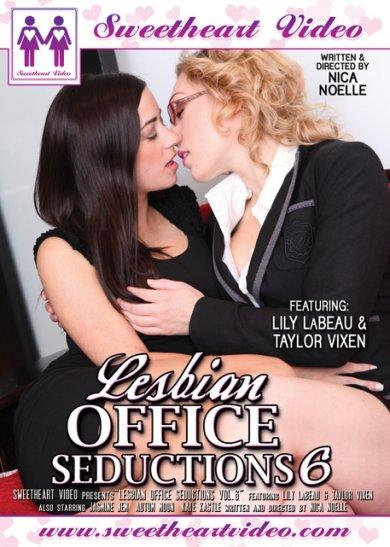 Lesbian Office Seductions #6