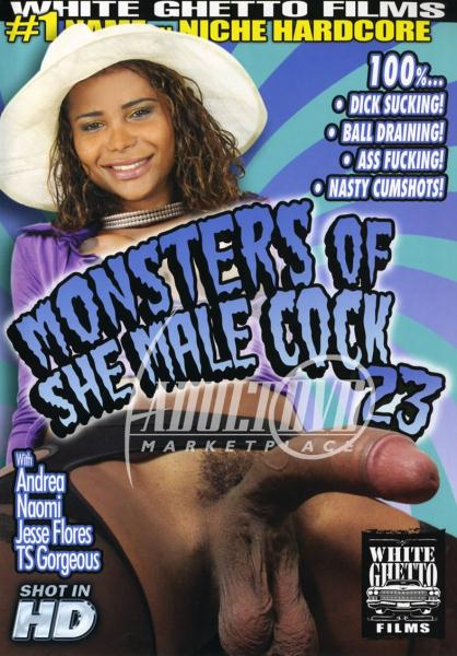Monsters Of She Male Cock 23 (2011/DVDRip)