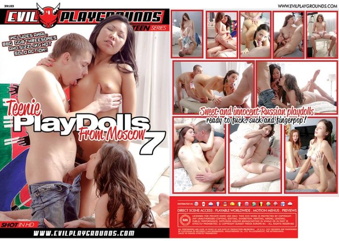 Teenie Playdolls From Moscow 7