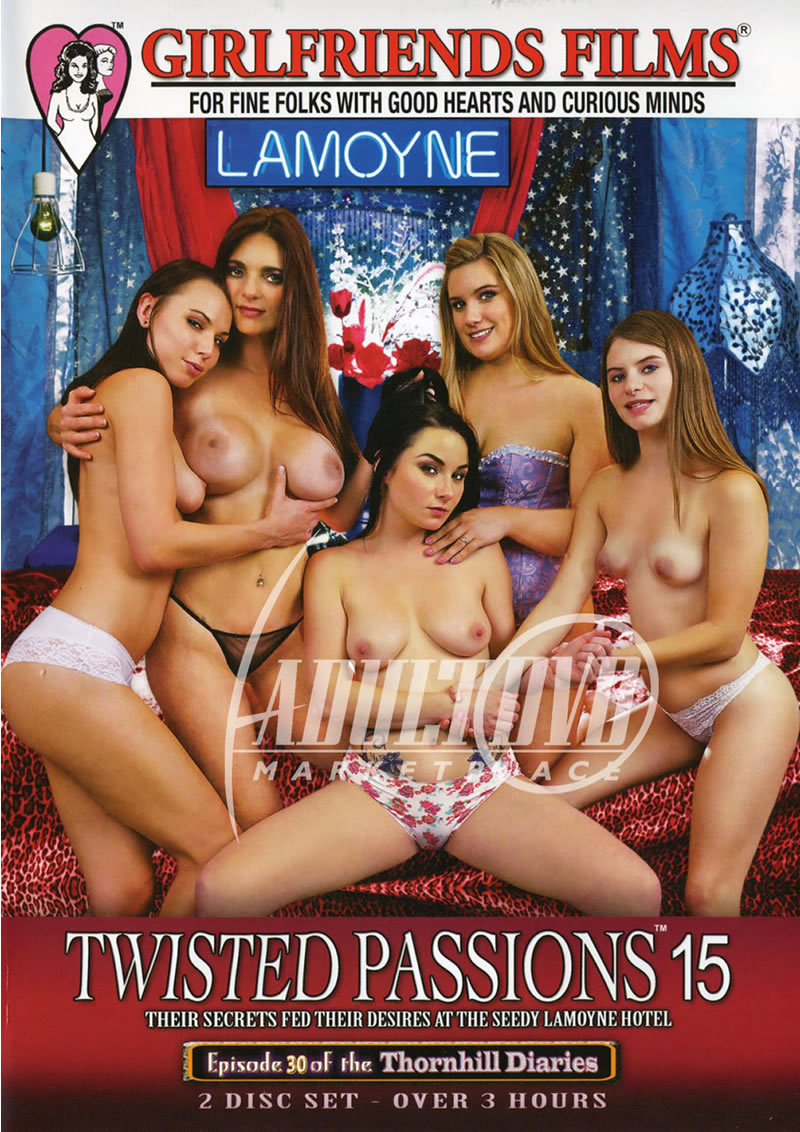 Twisted Passions 15 (GIRLFRIENDS FILMS/2015)