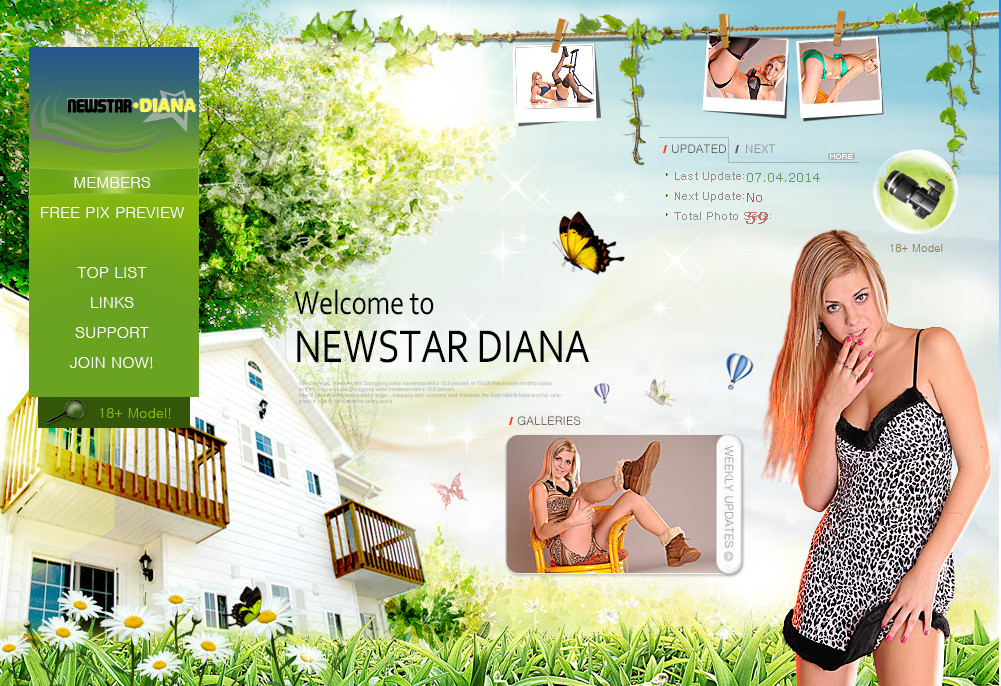 Newstar-Diana SiteRip