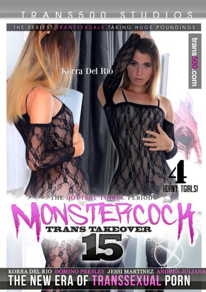 Monster Cock Trans Takeover 15 (2017/WEBRip/HD)