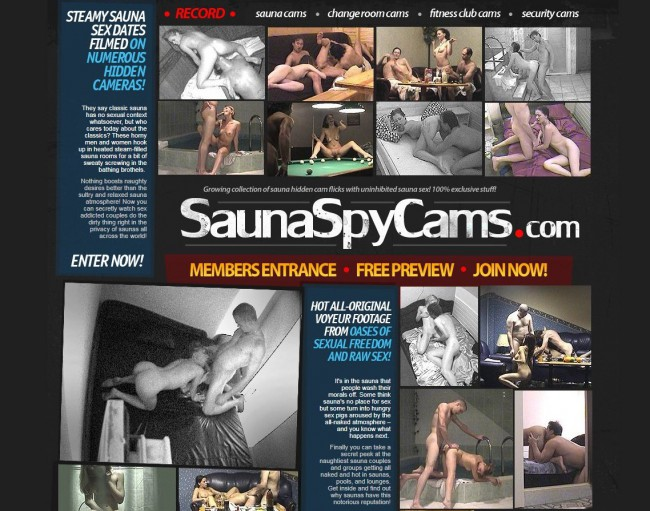 SaunaSpyCams.com – SITERIP Videos