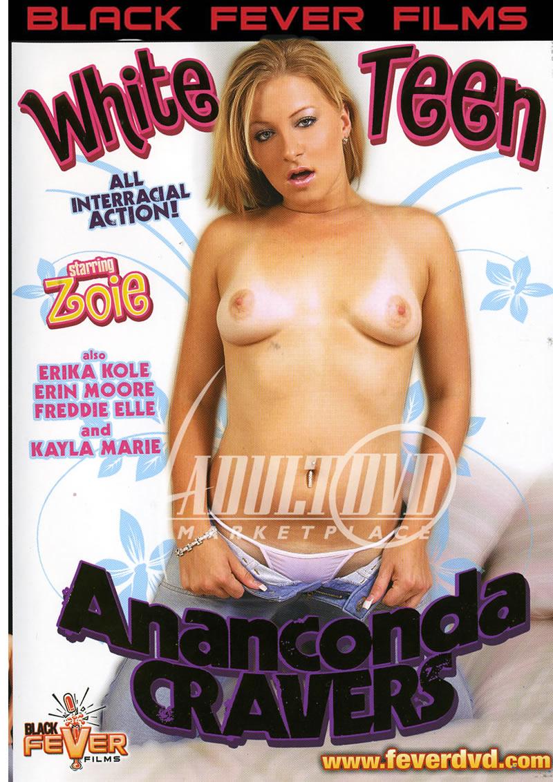 White Teen Anaconda Cravers (BLACK FEVER FILMS)