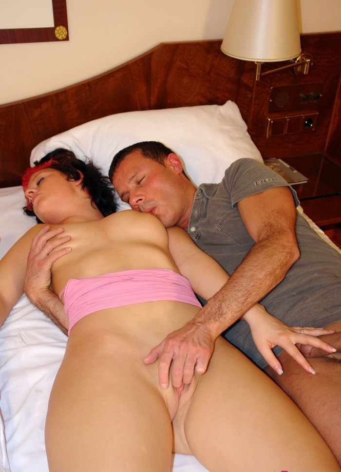 Sister sleeping sex nude — pic 14
