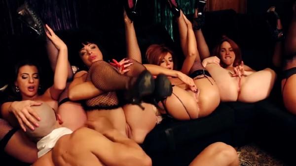 Amarna Miller, Bianca Resa, Gala Brown, Natalia Sanchez, Yarisa Duran - Amarna Miller - the great orgy, the big final. David el moreno did it again (2017/FaKings/SD)