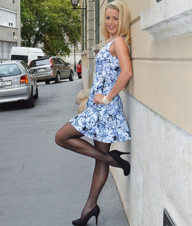Christen - 19 Year Old Damsel In a Dress! (JimSlip)