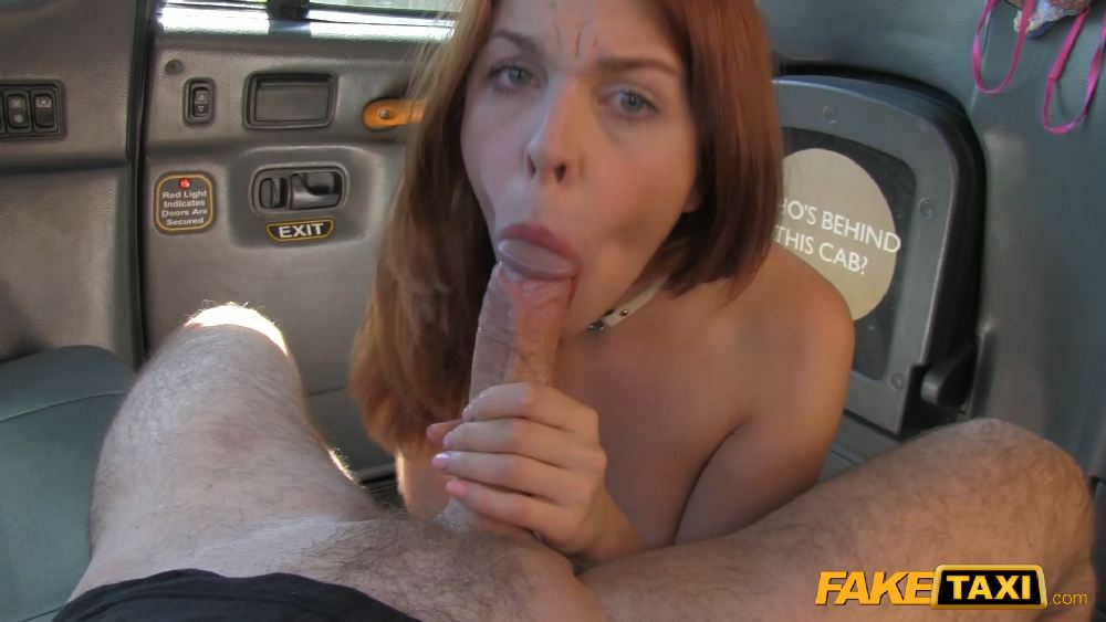 Redhead Gets Dirty With Future Sugar Daddy (FakeTaxi)