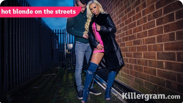 Barbie Sins - Hot Blonde On The Streets (2017/UkStreetWalkers/KillerGram/HD)