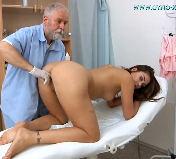 Ani Blackfox - 24 Years Girl Gyno Exam 2017Gyno-Xhd-7348