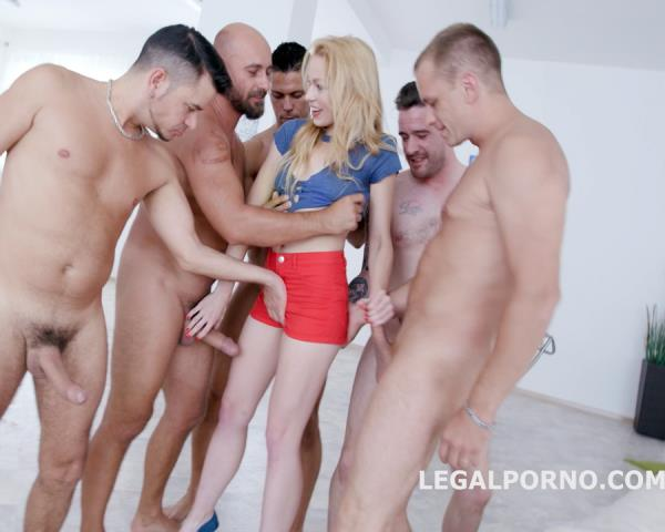 Rebecca Sharon - Total DAP Destruction With Rebecca Sharon, Almost Only DAP And Gapes, She Is A Monster! GIO419 (2017/LegalPorno/HD)