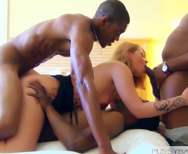 Amateurs - All 3 Holes filled for her Birthday (2017/PussyBandit/HD)