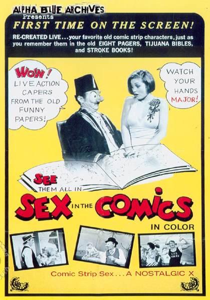 Sex In The Comics (1973/DVDRip)