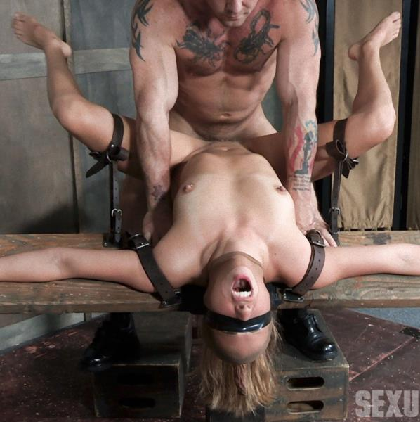 Julia Waters - First ever porn shoot. Brutal throat fuckings, Anal fucking, with amazing bondage (SexuallyBroken/2017/HD)