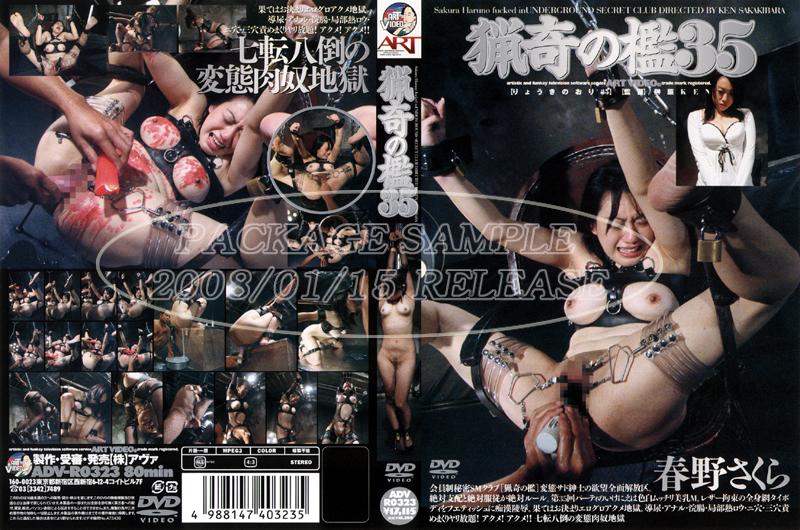 ADV-R0323 奇妙ケージ35 Sakakibara Ken Art Video