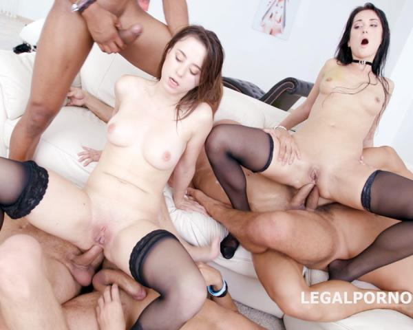 Angie Moon, Gabriella - Prolapse Madness With Gabriella And Angie Moon, No Pussy, Balls Deep Anal, DAP, Gapes, Anal Fist, Prolapse Licking GIO423 (2017/LegalPorno/HD)