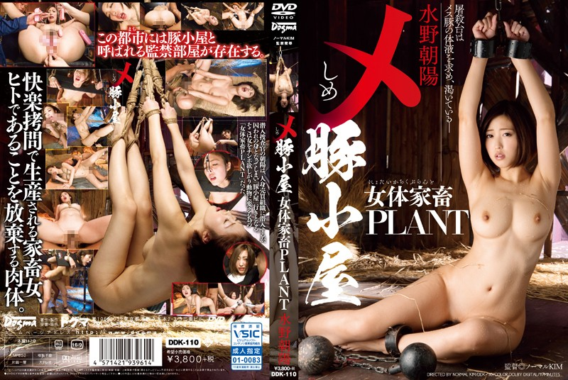 DDK-110 メ 豚小屋 女体家畜PLANT 水野朝陽 Big Tits 巨乳 SM Mizuno Asahi