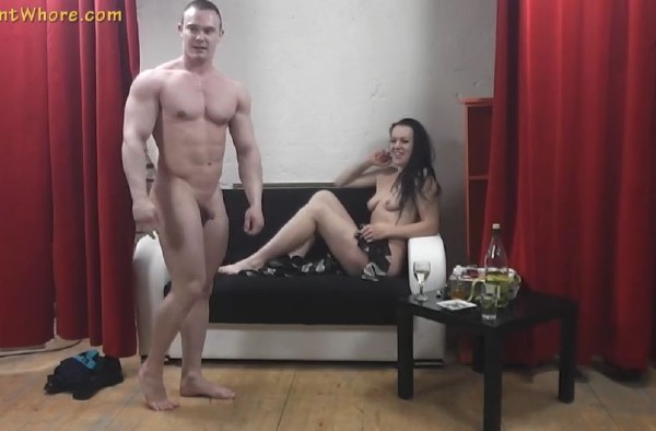 Jana - Jana let the guy oil her naked body (2017/AgentWhore/SD)