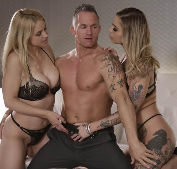 Kleio Valentien, Sarah Vandella, Marcus London - Takers, Scene 4 (Wicked/2017/1080p)