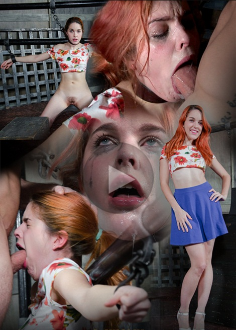 Amarna Miller - Amarna Miller Suffers though a brutal face fucking, while cumming and cumming on a sybian!