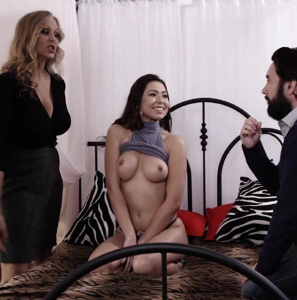 Julia Ann, Melissa Moore, Tommy Pistol - Julia Ann And Melissa Moore Doing Threesome (2017/ZeroTolerance/Ztod/HD)