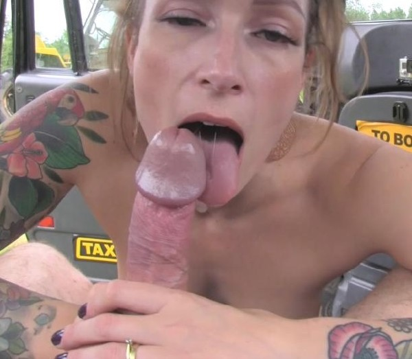 Ava Austen - Wet panties in her mouth and fucked (2017/FakeTaxi/FakeHub/1080p)
