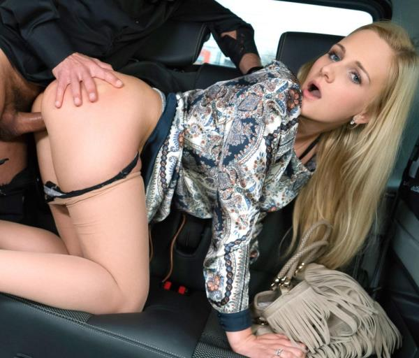 Katie Sky - Sexy Czech blonde Katie Sky gets cum on tits in the backseat of the car (FuckedInTraffic/PornDoePremium/2017/1080p)