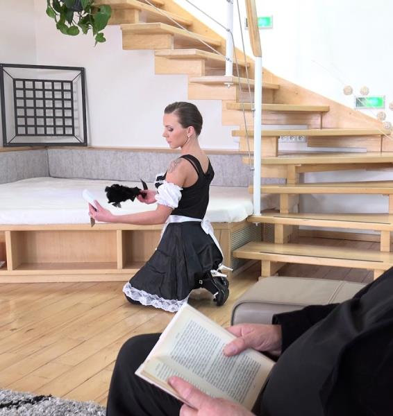 Lita Phoenix - Sexy maid serves old man (Old-n-Young/TeenMegaWorld/2017/1080p)