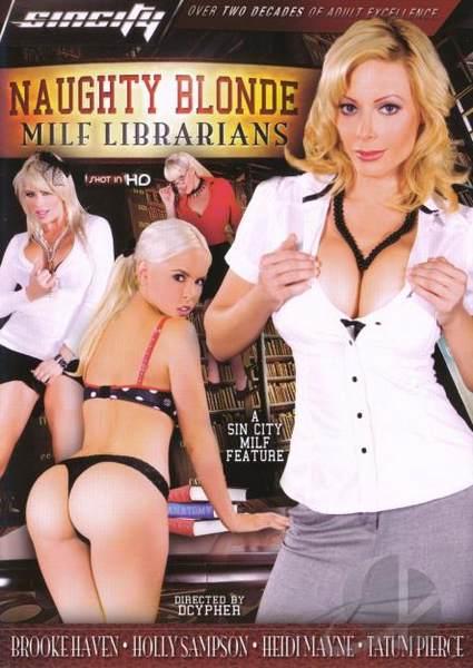 Naughty Blonde MILF Librarians (2009/DVDRip)