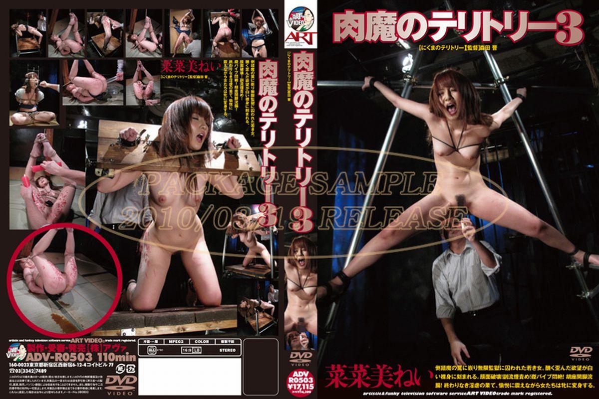 ADV-R0503 Tanaka Miku (菜菜美ねい) 肉魔のテリトリー 3 Scat その他SM 110分 2010/03/19
