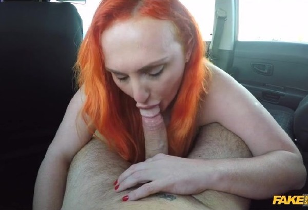 Chloe Davis - Tattooed redhead craves a big cock (2017/FakeDrivingSchool/SD)