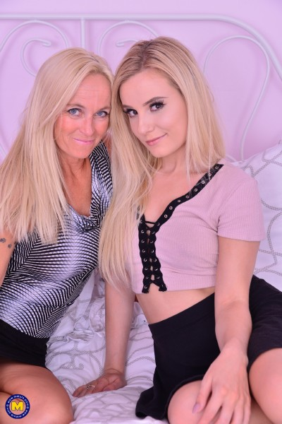 Dani Dare (49), Lena Spanks (22) - American mom has sex with a hot young Canadian babe (2017/Old-and-Young-Lesbians/Mature.nl/SD)