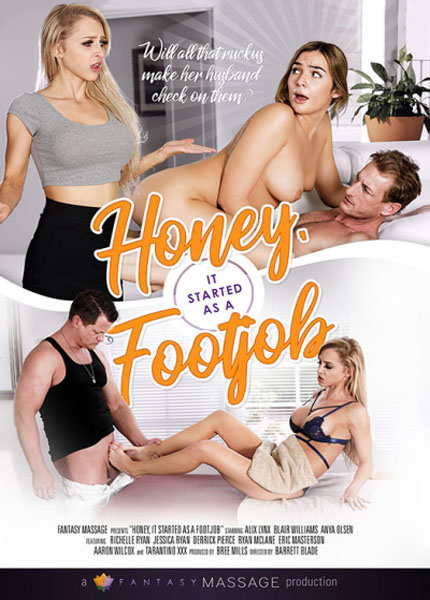 Honey It Started As A Footjob (2017/WEBRip/SD)