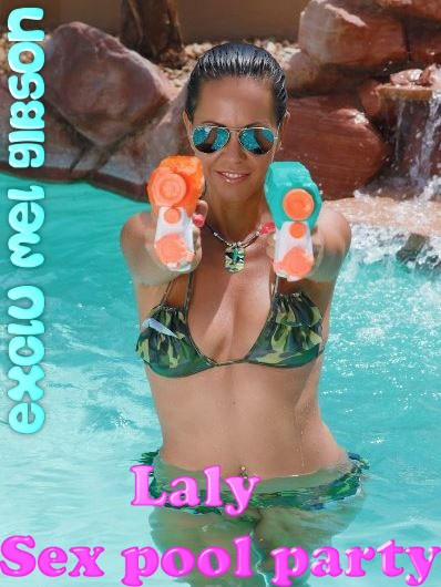 Laly Sex Pool Party
