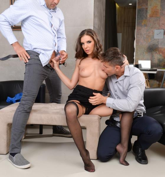 Henessy - Threesome At The Office (DPFanatics/21Sextury/2017/1080p)