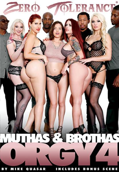 Muthas And Brothas Orgy 4 (2017/DVDRip)