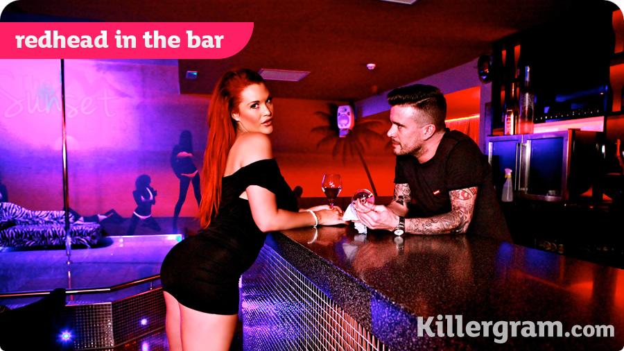 Paige Delight - Redhead In The Bar (Pornostatic/Killergram)