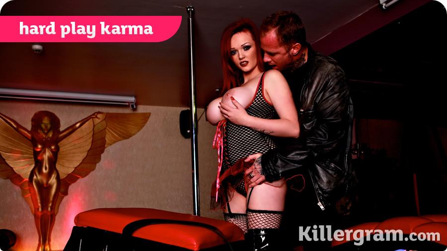 Jasmine James - Hard Play Karma (Pornostatic/Killergram)