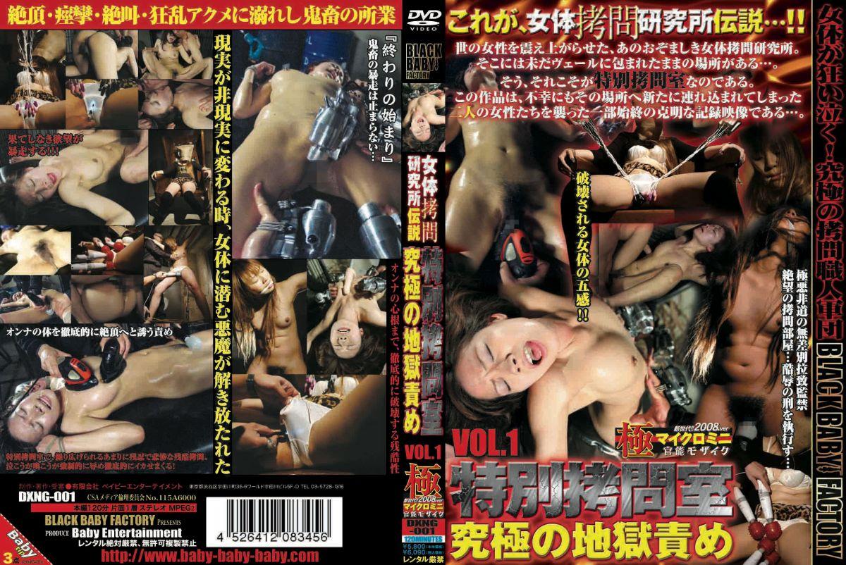 DXNG-001 女体拷問研究所伝説 特別拷問室 究極の地獄責め その他 Amateur 2008/07/12 ベイビーエンターテイメント