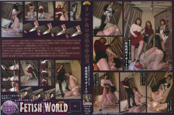 HCD-05 一般女性モニター達によるリンチ&口舌舐め奉仕男 快感試用リポート. ミニスカ Mini Skirt Golden Showers