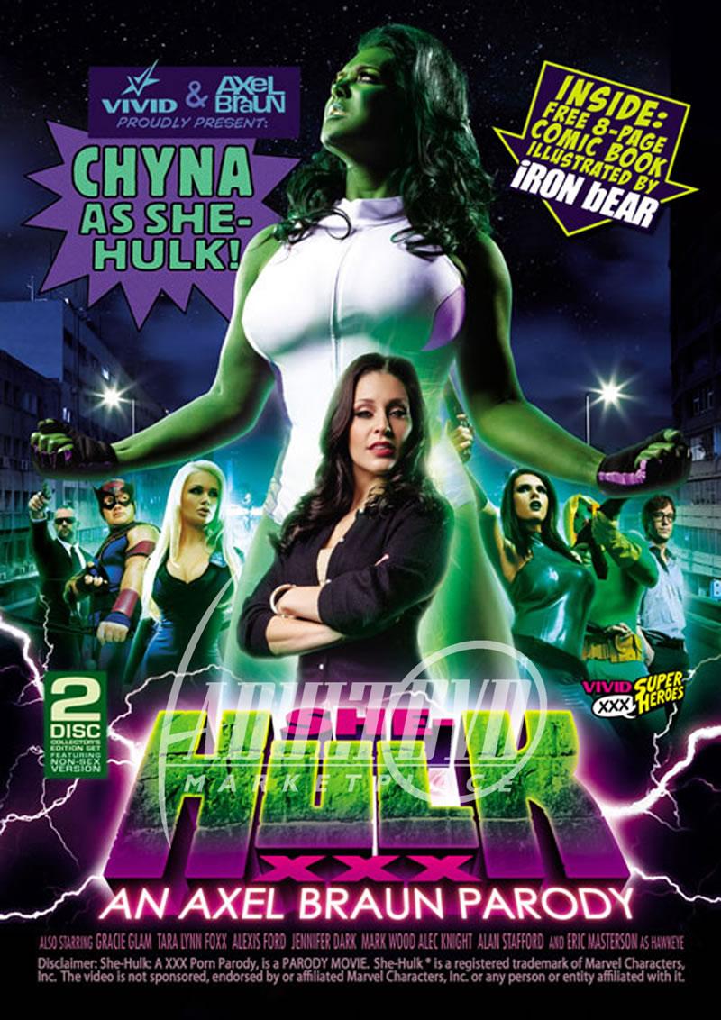 She Hulk XXXAn Axel Braun Parody