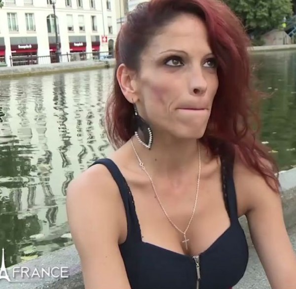Nikki - A skinny mature slut with big boobs came to France to gets screwed and facialized (2017/NudeInFrance/SD)