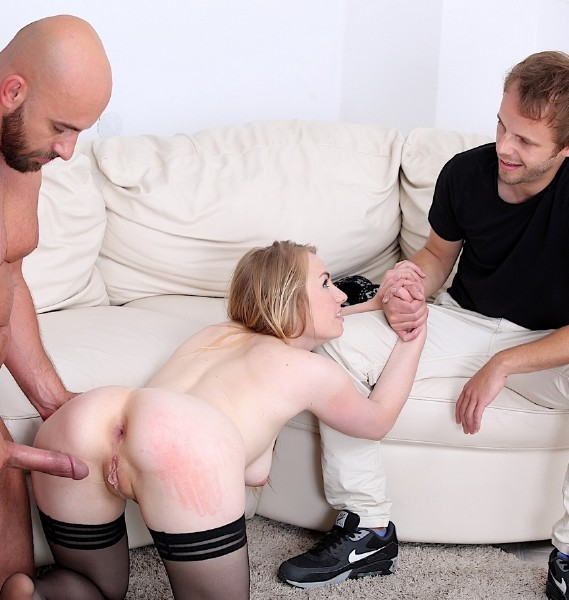 Real Wife Watches Husband Fuck