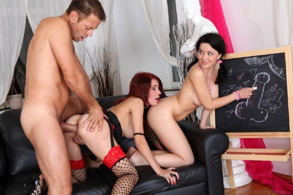 Aspid, Niki E - Roccos Young Anal Lovers, Scene 3 (2012/RoccoSiffredi/SD)