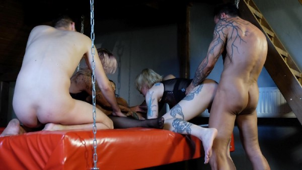 Gina Valentina, Kitty Blair - Magma Swingt Im Parchenclub And Schiedel 1 (2017/MagmaFilm/SD)