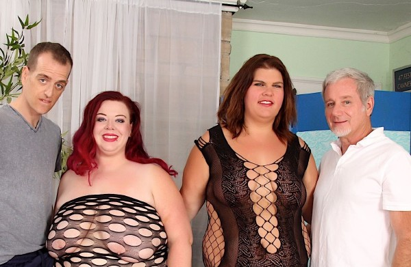 Danni Dawson, Miss Ladycakes - Fabulous Fat Four-Way (2017/JeffsModels/HD)