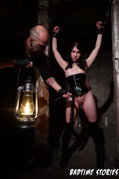 Lady Cosima, Vanessa Voxx - Hot German dominatrix Lady Cosima dominates submissive slave babe PT 1 (2017/BadTimeStories/PornDoePremium/SD)