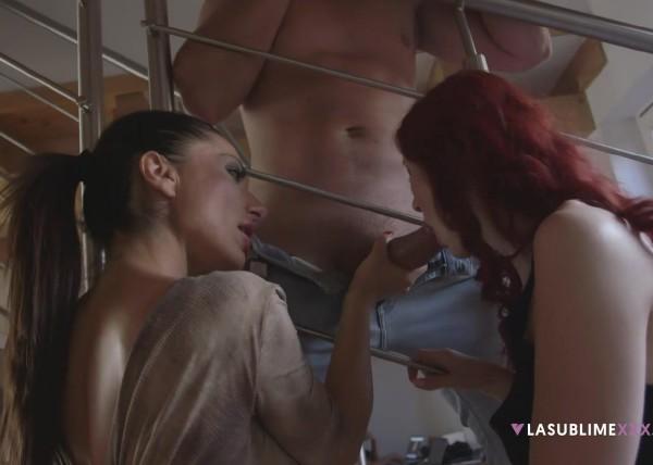Kattie Gold, Priscilla Salerno - Czechs suck better (2017/LaSublimeXXX/1080p)